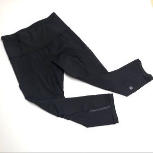 Ω Lululemon Capri athletic bottoms phone pockets